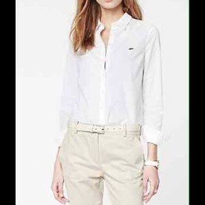 🆕 Lacoste White Button Up